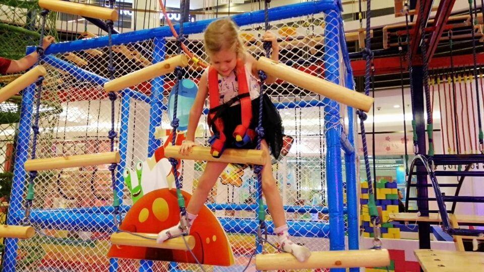 Things to do in Kuala Lumpur With Kids-Paradigm Mall Indoor Playground-Ayla