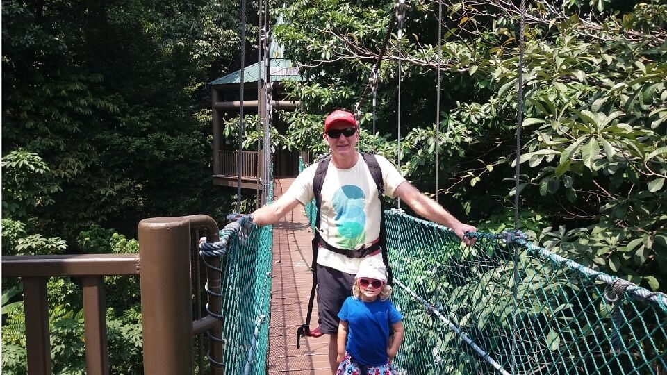 Things to do in Kuala Lumpur With Kids-KL Forest Eco Park-Colin and Ayla