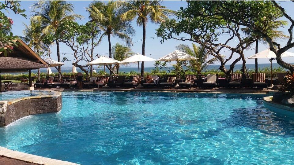 The best of SouthEast Asia-beachside pool in Bali, Indonesia