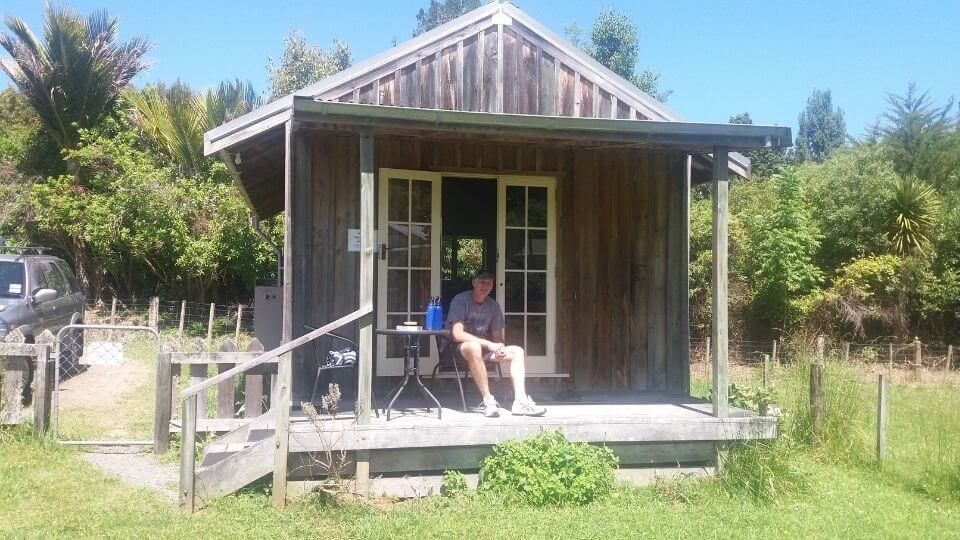 Things to do between Gisborne and Napier-Morere hot springs-cabin stay across the road