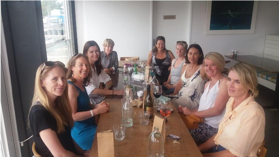 Things to do in Gisborne-baby shower with friends at the Gisborne Wine centre-Crawford Road kitchen