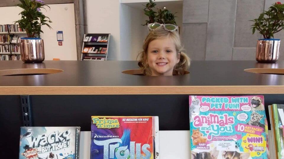 Things to do in Gisborne-chill out at the Gisborne library in town