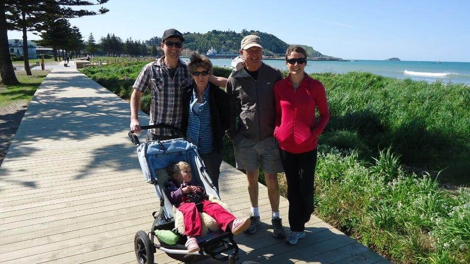 Things to do in Gisborne-family walks along the Giborne boardwalks-Waikanae to Midway beach section