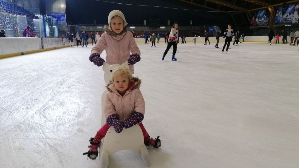 Things to do in Belgrade-Pionir Ice Hall-Ayla ice skating and Romy riding