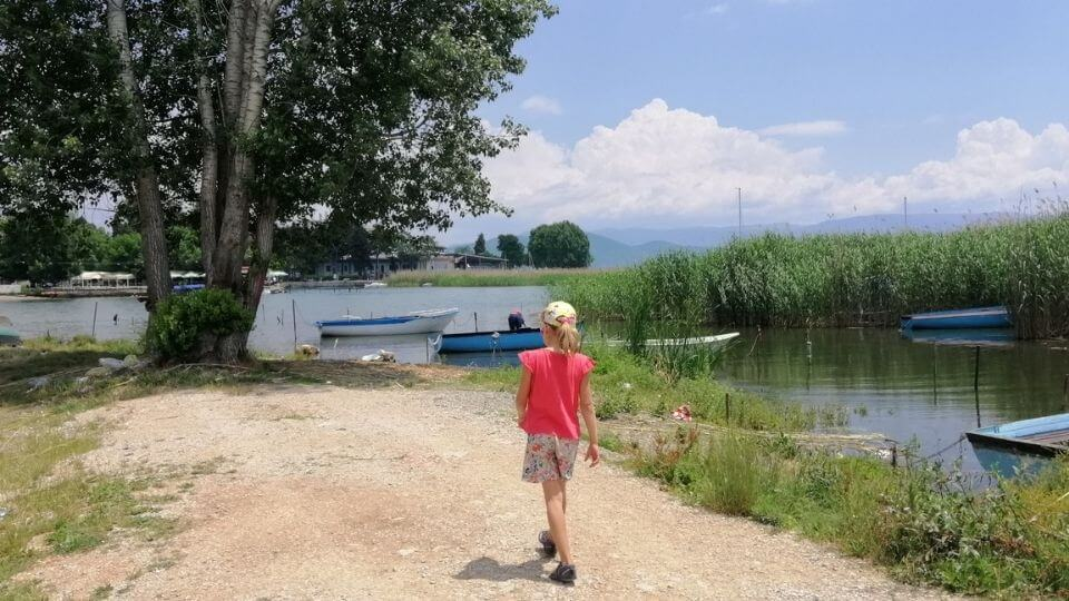 Things to do in Ohrid-take a day trip to Struga-Ayla walking along lakefront trail